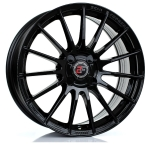"2FORGE ZF1 GLOSS BLACK 17""(757C10GB2FZF1-2FORGE-25-4X98-7.5X17)"