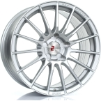 "2FORGE ZF1 SILVER 17""(757C10AS2FZF1-2FORGE-25-4X98-7.5X17)"