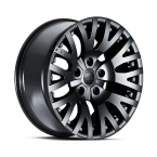 "Kahn EVOQUE1941DC Vulkansk Satin Sort 17""(COS757B03)"