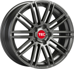 "TEC-Speedwheels AS3 Gunmetal 17""(7517ATE188)"