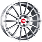 "TEC-Speedwheels AS2 Sølv 17""(7017ate140)"