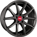 "TEC-Speedwheels GT3 Gunmetal 18""(8018as271)"