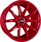 "TEC-Speedwheels GT3 Rød 19""(8519as556)"