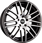 "TEC-Speedwheels GT1 Sort/poleret 17""(8017as236)"