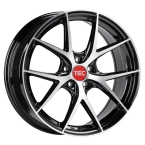 "TEC-Speedwheels GT6 Sort/poleret 18""(8018ate591)"