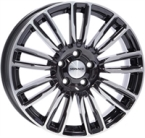 "Monaco MC14 Gloss Black & Polished GLOSS BLACK & POLISHED 20""(EW428820)"