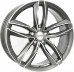 "Monaco MC2 Anthracite & Polished ANTHRACITE & POLISHED 18""(EW428932)"