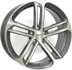 "Monaco MC4 Anthracite & Polished ANTHRACITE & POLISHED 18""(EW428941)"