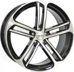 "Monaco MC4 Gloss Black & Polished GLOSS BLACK & POLISHED 18""(EW435273)"