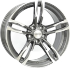 "Monaco MC5 Anthracite & Polished ANTHRACITE & POLISHED 18""(EW428848)"