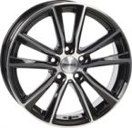 "Monaco MC6 Gloss Black & Polished GLOSS BLACK & POLISHED 17""(EW453107)"