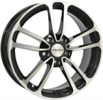 "Monaco CL1 Gloss Black & Polished GLOSS BLACK & POLISHED 16""(EW435215)"