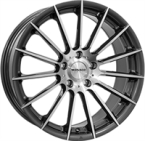 "Monaco Formula Anthracite Polished ANTHRACITE & POLISHED 17""(EW407043)"