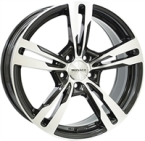 "Monaco Grandprix 4 Black & Polished BLACK / POLISHED 17""(EW420024)"
