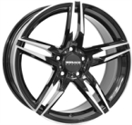 "Monaco Grandprix 1 Black & Polished BLACK / POLISHED 17""(EW420111)"
