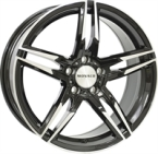 "Monaco Grandprix Gloss Black & Polished GLOSS BLACK & POLISHED 17""(EW428890)"
