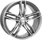 "Monaco Rr8m Anthracite & Polished ANTHRACITE & POLISHED 17""(EW419751)"
