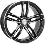 "Monaco Rr8m Gloss Black & Polished GLOSS BLACK & POLISHED 17""(EW428828)"