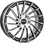 "Monaco Turbine Mc Black & Polished BLACK & POLISHED 19""(EW334743)"