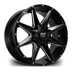 "RIVIERA XTREME RX200 BLACK POLISHED 20""(RX2002096X13915110BP-v1)"