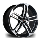 "LMR ROPTION BLACK POLISHED 18""(ROPTION1885X11245666BP-v1)"