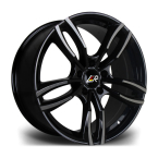 "LMR STAG BLACK POLISHED 18""(STAG18855X12035726BP-v1)"