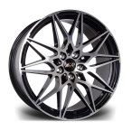 "LMR TORIA BLACK POLISHED 20""(TORIA20855X12045651BP-v1)"