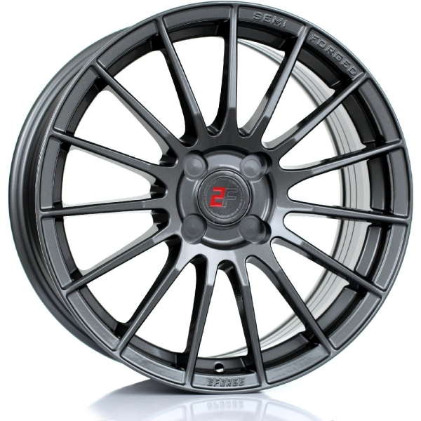 2FORGE ZF1 GLOSS GUNMETAL 17""