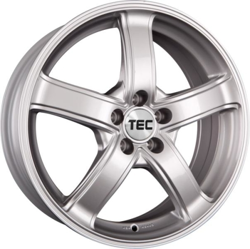 TEC-Speedwheels AS1 Sølv 15""