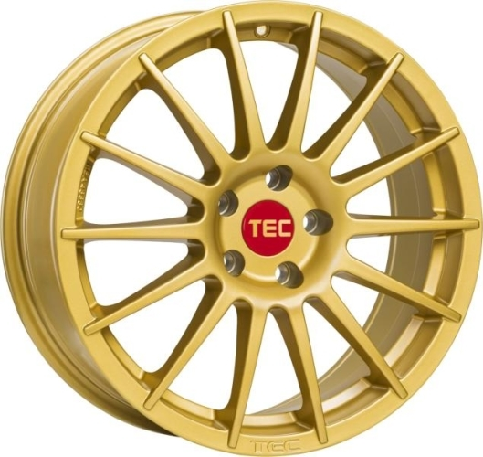 TEC-Speedwheels AS2 Guld 17""