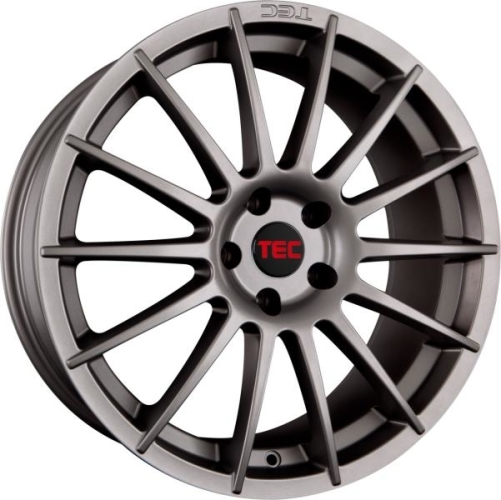 TEC-Speedwheels AS2 Gunmetal 17""