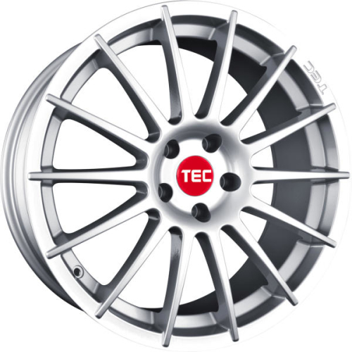 TEC-Speedwheels AS2 Sølv 17""