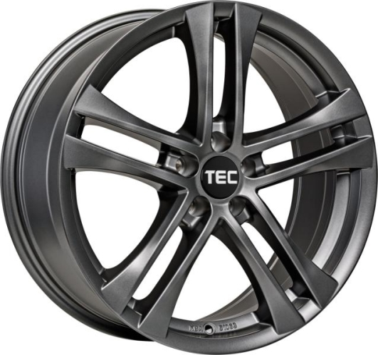 TEC-Speedwheels AS4 Gunmetal 16""