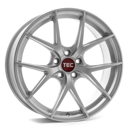 TEC-Speedwheels GT6 Brilliant sølv 18""