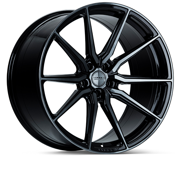 Vossen HF3 Double Tinted Gloss Black 19""