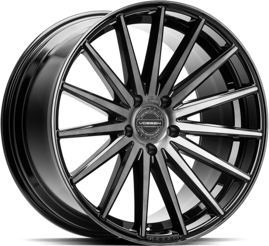 Vossen VFS-2 Tinted Gloss Black 19""