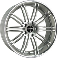 Monaco Chicane 947 STAINLESS STEEL LIP 18""