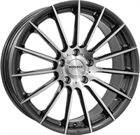 Monaco Formula Anthracite Polished ANTHRACITE & POLISHED 17""