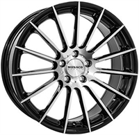 Monaco Formula Black & Polished BLACK & POLISHED 17""