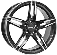 Monaco Grandprix 1 Black & Polished BLACK / POLISHED 17""