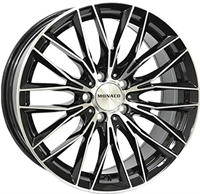 Monaco Grandprix 2 Black & Polished BLACK / POLISHED 18""