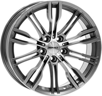 Monaco Grandprix 8 Anthracite & Polished ANTHRACITE & POLISHED 19""
