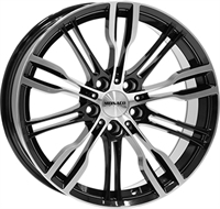 Monaco Grandprix 8 Gloss Black & Polished GLOSS BLACK & POLISHED 19""