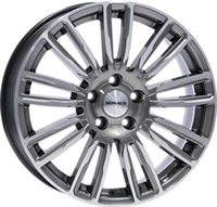 Monaco MC14 Anthracite & Polished ANTHRACITE & POLISHED 19""
