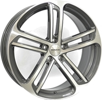 Monaco MC4 Anthracite & Polished ANTHRACITE & POLISHED 18""