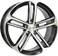 Monaco MC4 Gloss Black & Polished GLOSS BLACK & POLISHED 18""