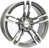 Monaco MC5 Anthracite & Polished ANTHRACITE & POLISHED 18""