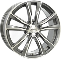 Monaco MC6 Anthracite & Polished ANTHRACITE & POLISHED 17""