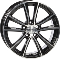 Monaco MC6 Gloss Black & Polished GLOSS BLACK & POLISHED 17""