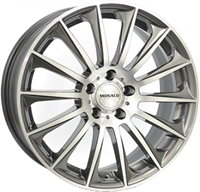 Monaco MC9 Anthracite & Polished ANTHRACITE & POLISHED 18""